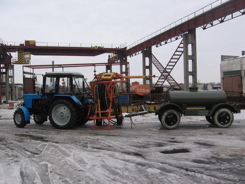 Установка для промывки дренажа УПД-120